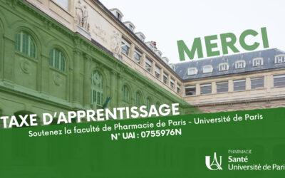 Soutenez la faculté de Pharmacie de Paris