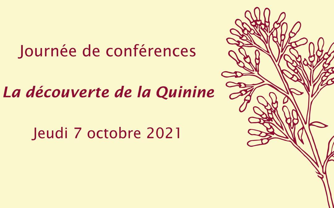 Journée de conférences « La découverte de la Quinine »